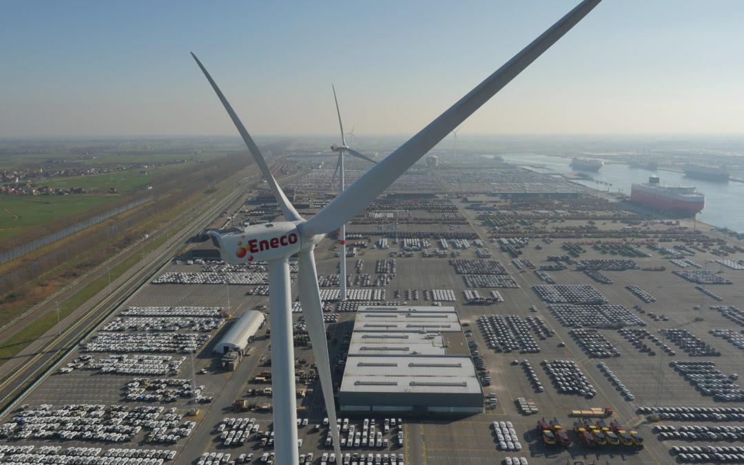 Vergunning windpark Zeebrugge